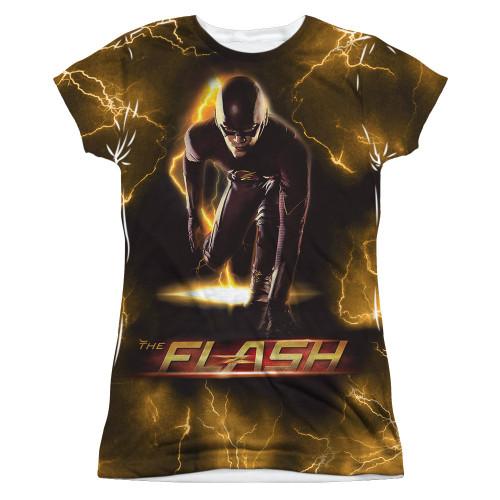 Flash TV Bolt Sub Juniors T Shirt