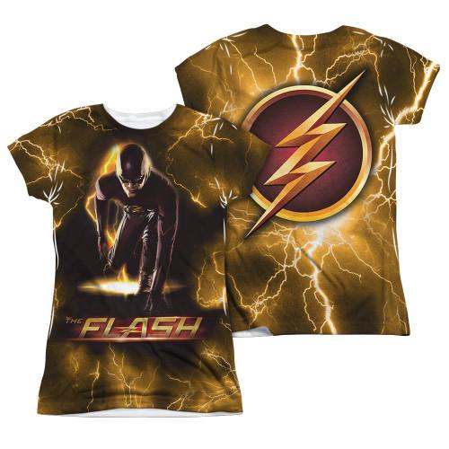 Flash TV Bolt FB Sub Juniors T Shirt