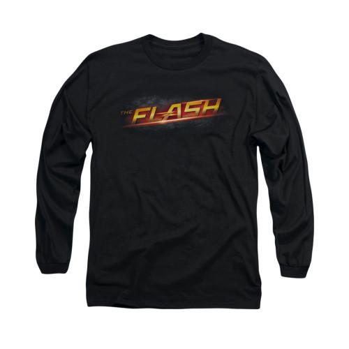 Flash TV Logo Long Sleeve T Shirt