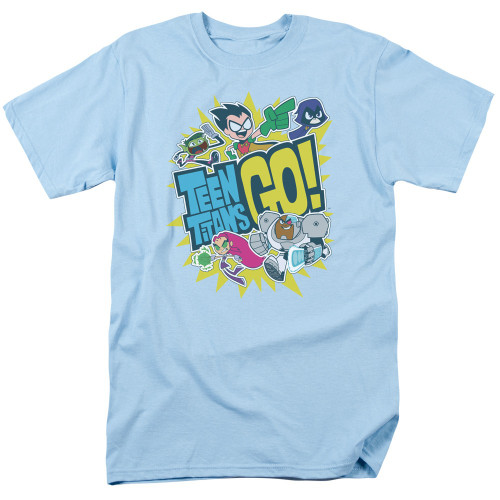 Teen Titans Go Group Logo T Shirt