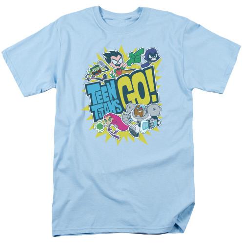 Teen Titans Go Group Logo T Shirt