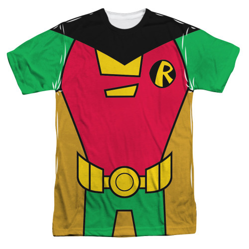 Teen Titans Go Robin Suit Sublimated T Shirt