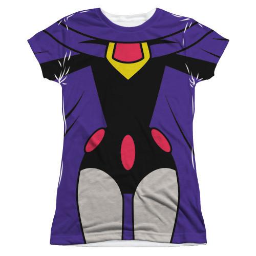 Teen Titans Go Raven Suit Sub Juniors T Shirt