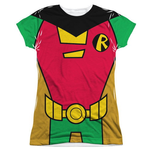 Teen Titans Go Robin Suit Sub Juniors T Shirt