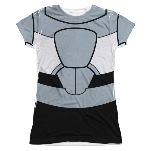 Teen Titans Go Cyborg Suit Sub Juniors T Shirt