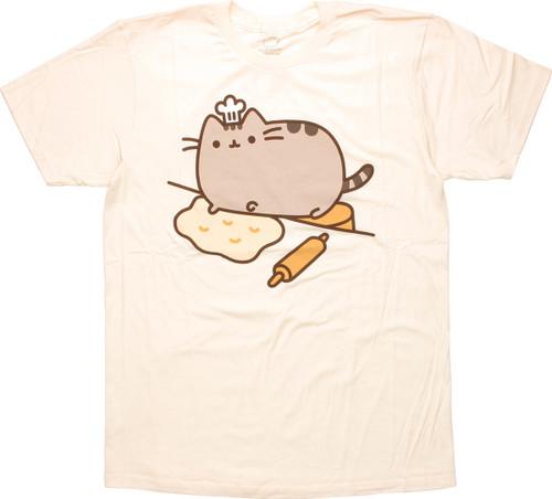 cd4e00d20 Pusheen the Cat Baker T-Shirt Sheer t-shirt-pusheen-baker-cream-shr