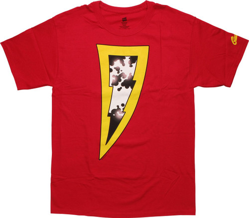 Shazam New 52 Logo T-Shirt