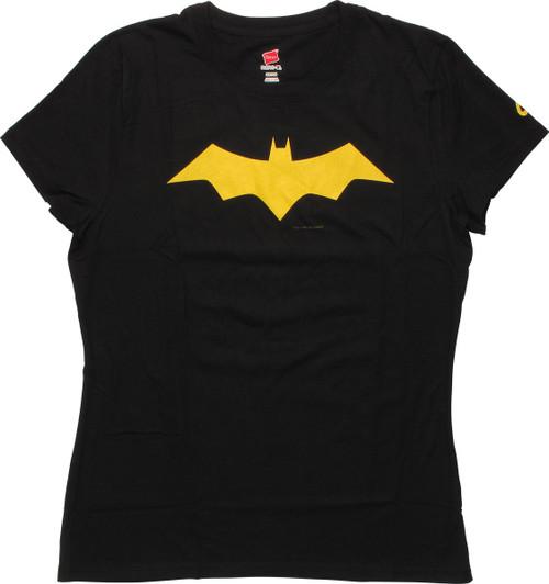 Batgirl Animated Logo Juniors T-Shirt
