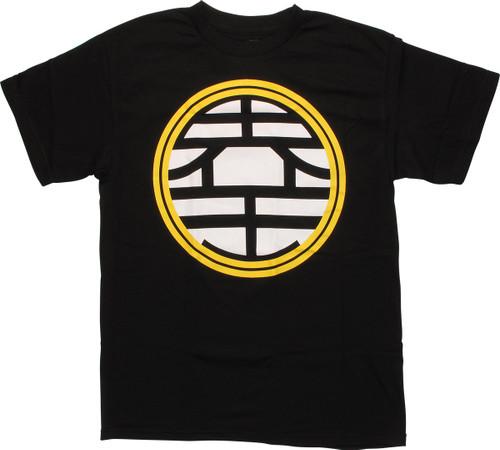 180630949 Dragon Ball Z King Kaio Symbol T-Shirt