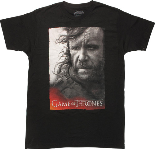 Game of Thrones Sandor Clegane T-Shirt Sheer