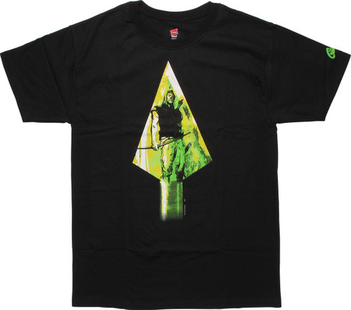 Green Arrow Year One Arrowhead T-Shirt