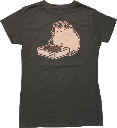 Pusheen the Cat DJ Juniors T-Shirt