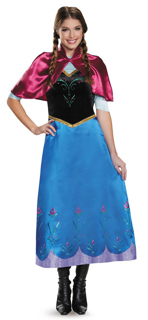 Frozen Anna Traveling Deluxe Adult Costume