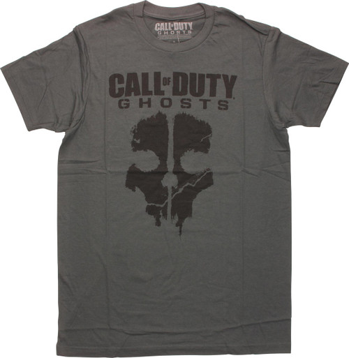 Call of Duty Ghosts Logo T-Shirt Sheer