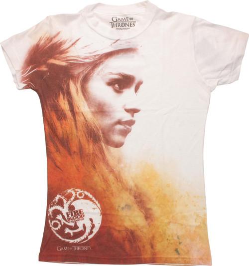 Game of Thrones Daenerys Targaryen Juniors T-Shirt