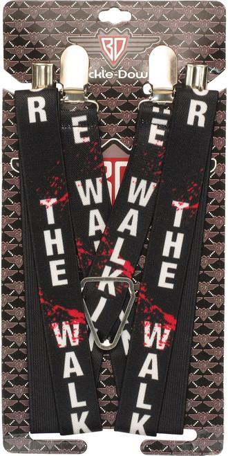Walking Dead Survivor Suspenders