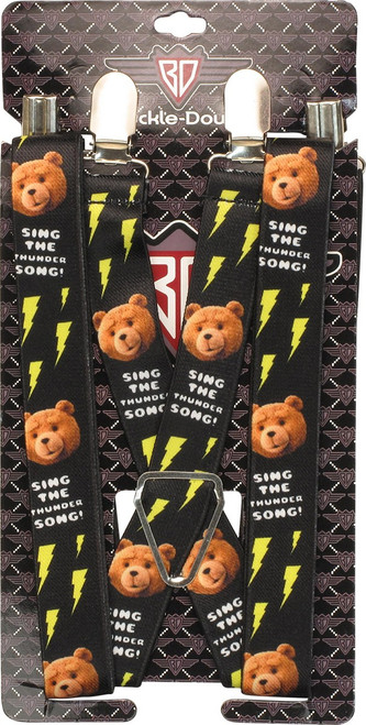 Ted Sing Thunder Song Suspenders