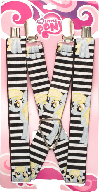 My Little Pony Muffins Striped Suspenders