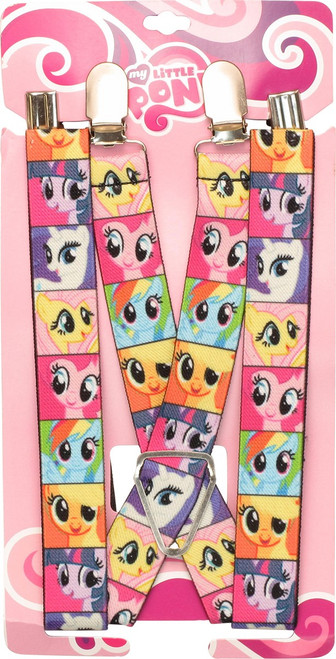 My Little Pony Characters Squares Suspenders
