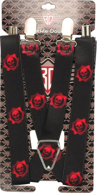 Gears of War Judgment Crimson Omen Logo Suspenders