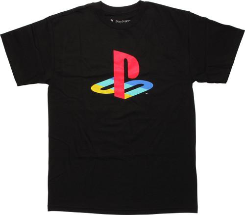 PlayStation Color Logo T-Shirt