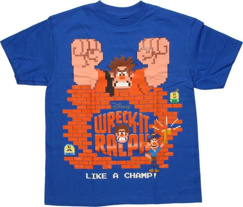 Wreck-It Ralph Like Champ Youth T Shirt