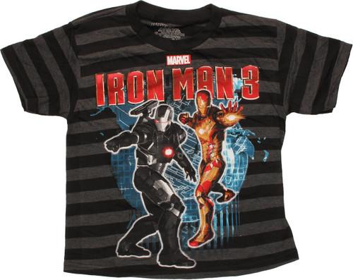 fa3efef3cd6 Iron Man 3 Duo War Machine Youth T Shirt youth-t-shirt-iron-man-3-duo-war- machine