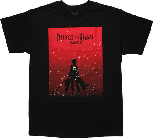 Attack on Titan Scout Silhouette T-Shirt