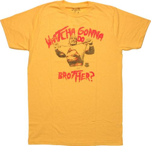 Hulk Hogan Watcha Gonna Do Brother T-Shirt Sheer