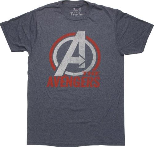 Avengers Assemble Logo T-Shirt Sheer