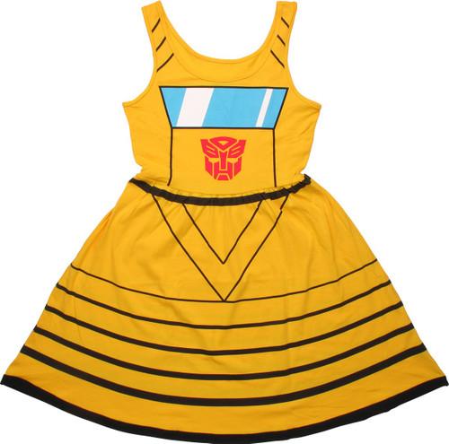 Transformers Bumblebee A Line Dress