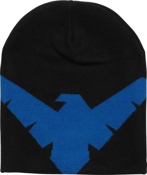 Nightwing Logo Slouch Beanie