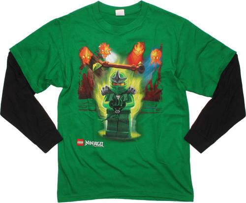 Lego Ninjago Lloyd Power Long Sleeve Youth T-Shirt