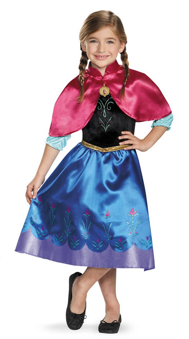 Frozen Anna Traveling Classic Child Costume