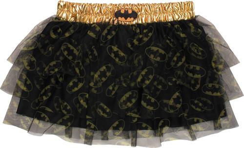 Batgirl Logos Tiered Tutu Skirt