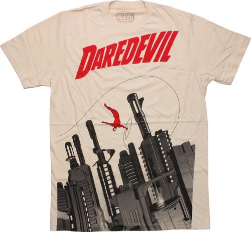 Daredevil Gun City T-Shirt Sheer