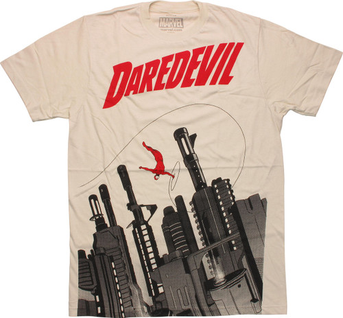 Daredevil Gun City T-Shirt Sheer