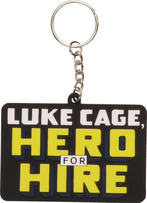 Luke Cage Hero For Hire Keychain