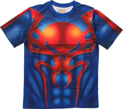 Spiderman 2099 Sublimated Costume T-Shirt Sheer
