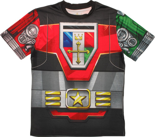 Voltron Sublimated Costume T-Shirt Sheer