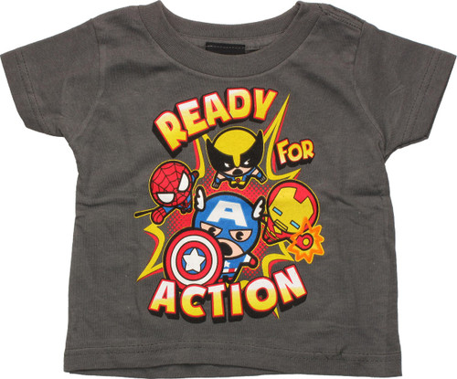Avengers Toys Ready Action Infant T Shirt