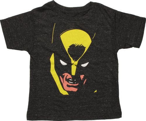 X Men Wolverine Face Toddler T-Shirt