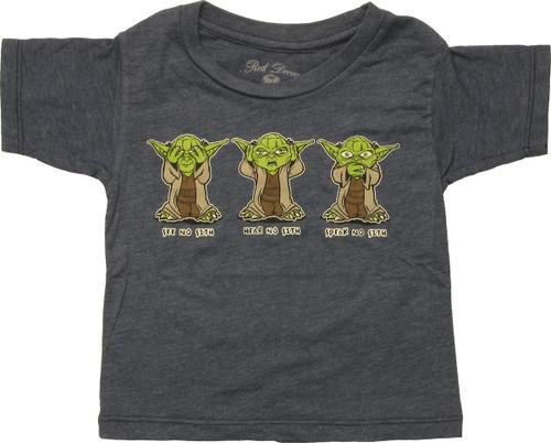 Star Wars Yoda No Sith Infant T-Shirt