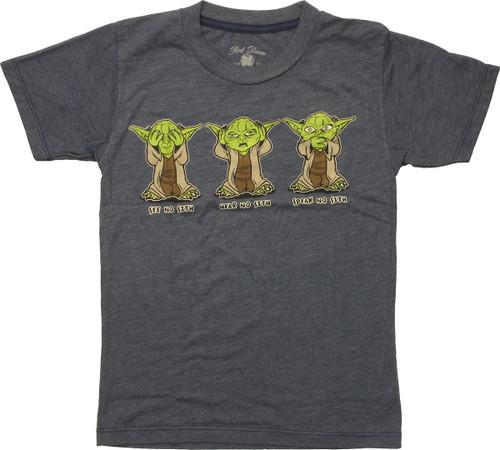 Star Wars Yoda No Sith Juvenile T-Shirt