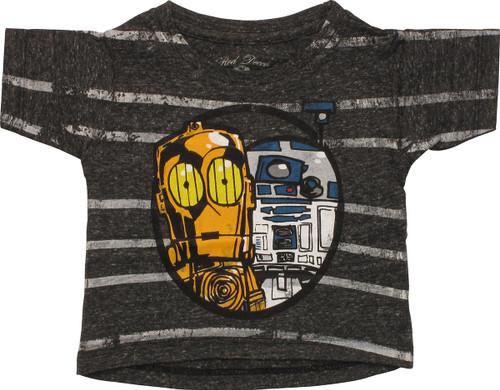 Star Wars Droids Striped Infant T-Shirt