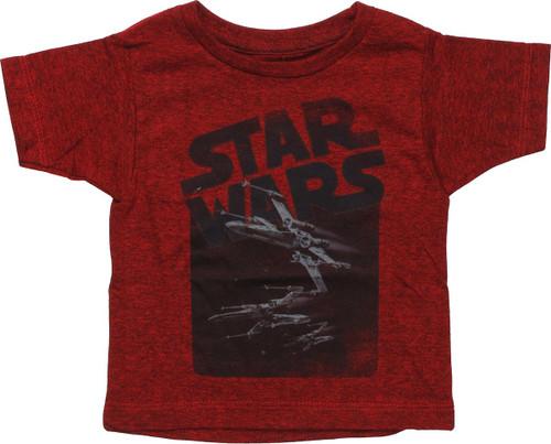 Star Wars 3 X-Wings Infant T-Shirt