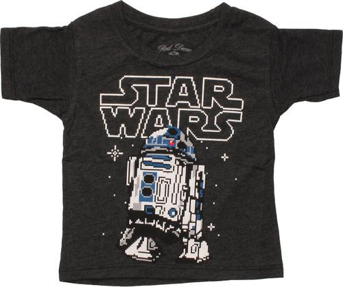 Star Wars 8 Bit R2-D2 Infant T-Shirt