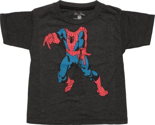 Spiderman Body Web Shoot Toddler T-Shirt
