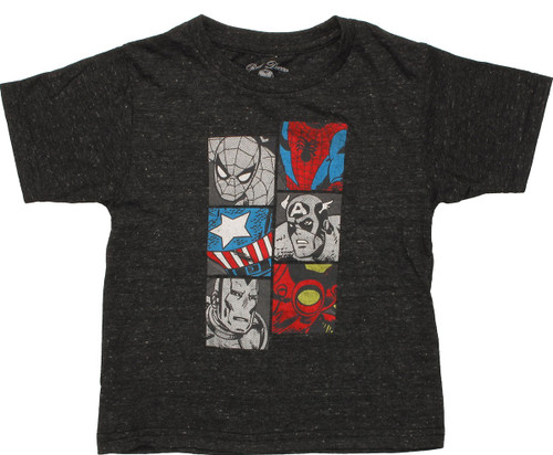 Marvel Heroes Body Squares Toddler T-Shirt