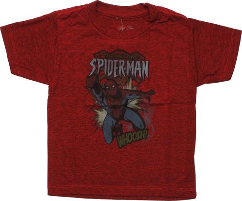 Amazing Spiderman Whoosh Toddler T-Shirt